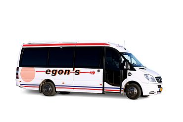 Bus-Type: Mini-Bus for 1-15 persons
